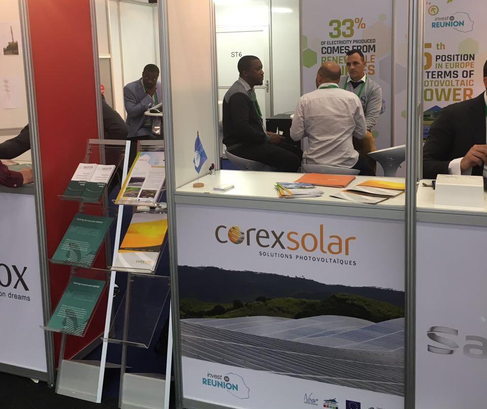Corey Solar @ African Utility week